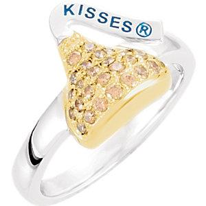 HERSHEYS KISSES Cubic Zirconia Birthstone Ring Ref 651080