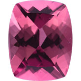 Antique Cushion Genuine Pink Tourmaline (Black Box)