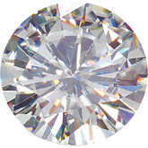Round Lab Created Moissanite