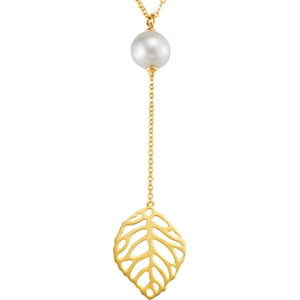 Freshwater Aultured Pearl<br> Necklace