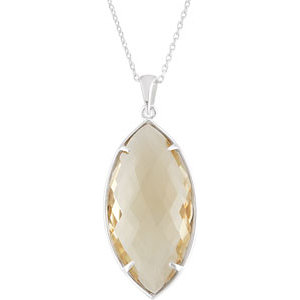 Quartz Necklace or Pendant