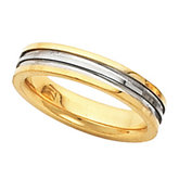 4mm Two Tone Inside Round Band