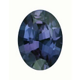Oval Genuine Alexandrite (Black Box)