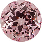 Round Chatham Created Pink Champagne Sapphire