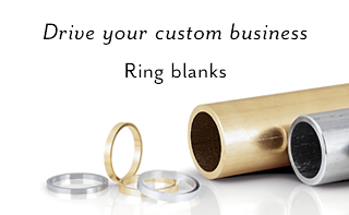 Driving your custom business Ring blanks