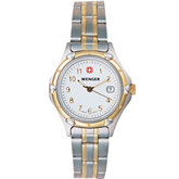 Wenger® Ladies Standard Issue Two Tone Watch