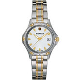 Wenger® Ladies Standard Issue White Mother-of-Pearl Dial Two Tone