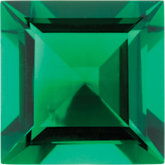 Square Imitation Emerald