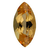 Marquise Genuine Golden Precious Topaz (Black Box)