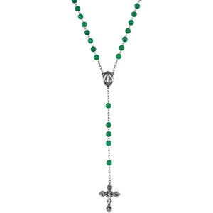 Green Jadeite Rosary