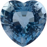 Heart Genuine Aquamarine (Black Box)