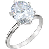 6-Prong Light Solitaire Engagement Ring