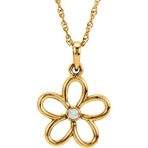 Flower Dangle Pendant