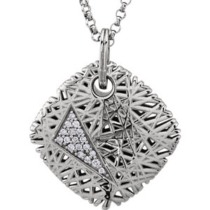 Diamond Nest-Design Necklace or Pendant Mounting