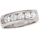 1 ct tw Diamond Band