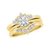 1/3 ct tw Diamond Ring Guard