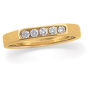 Diamond Accented Band