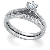 Round Diamond Soliatire Engagement Ring
