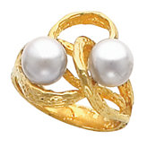 Ring Mounting for 7.0 mm Pearls