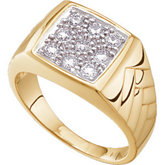 5/8 ct tw Gents Diamond Ring