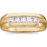 7/8 ct tw Gents Diamond Ring