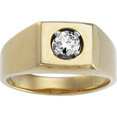 1/2 ct tw Gents Diamond Ring