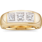 1/3 ct tw Gents Diamond Ring