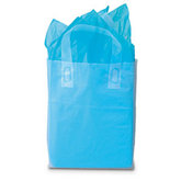 Clear Frosted Shopping Tote