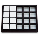 20 Pad Carefree Stackable Tray- Black