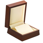 Amber Wood Pendant/Earring Box