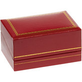 Classic Red Double Ring Box