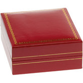 Classic Red Pendant or Earring Box