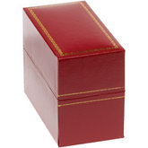 Classic Red Bangle or Watch Box