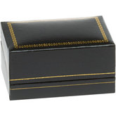 Classic Black Double Ring Box