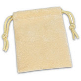Seashell Soft Suede Pouch