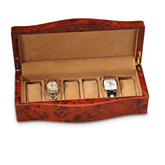 Burlwood Watch Case