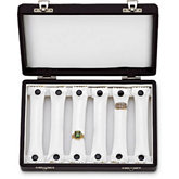 6 Removable Ring Bar Case with Removable Hinged Lid