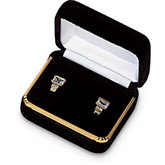 Silver Cloud Velvet Earring Box