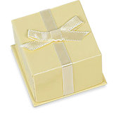 Beige Pendant No-Wrap Gift Box