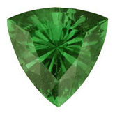 Trillion Genuine Tsavorite Garnet (Black Box)