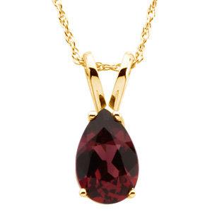 Genuine Rhodolite Garnet Necklace