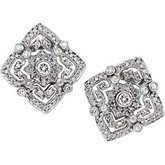 1 ct tw Diamond Earring