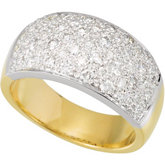 1 ct tw Micro Pavé Diamond Ring