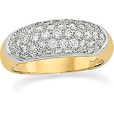 1 ct tw Diamond Pavé Anniversary Ring