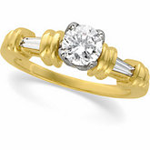 Tulipset® Engagement Ring Mounting