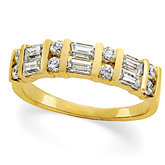 3/4 ct tw Diamond Anniversary Band