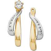1/6 ct tw Diamond Earring Jacket