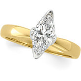 Marquise Tulipset® Solitaire Mounting