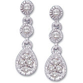 1/8 ct tw Diamond Earring