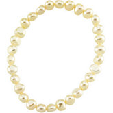 Panache™ Freshwater Cultured 6-7mm Pearl Stretch Bracelet